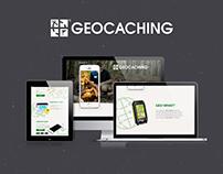 Geocaching | Landing page