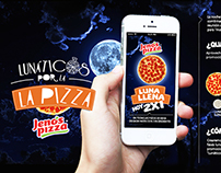 Jenos Pizza - App Lunáticos