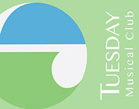 Tuesday Musical Club identity package