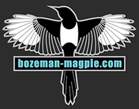 Bozeman Magpie - Stickers & Apparel