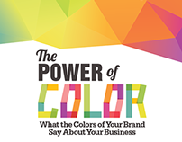 The Power of Color in Branding Infographic