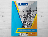 Catalog for the company ESSP (technical layout)