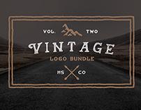 Vintage Logo Bundle - 60% Off