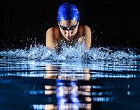 Sonia the swimmer