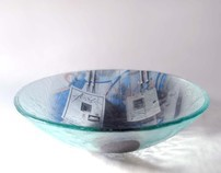 street art glass bowls
