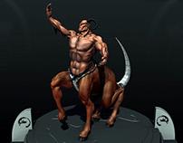 Motaro 3D in ZBrush