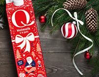Q Milk Christmas edition 2018