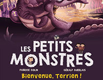 "Les Petits Monstres. Tome 5 : ""Salut Terriens !"""