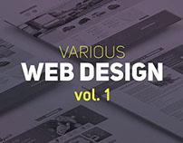 Various Web Design vol. 1