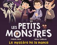 """Les Petits Monstres.Tome 6 : """"Le Mystère de la Momie""""."""