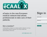 eCaalyx service portal