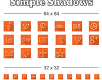 Simple Shadow Icons