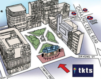 Tkts Map