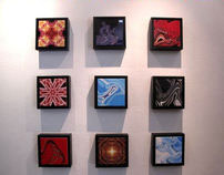 """Connectiles"" Limited Edition Fine Art Ceramic Tiles"
