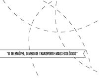 Telemóvel, o meio de transporte mais ecológico