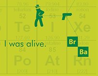 Cartaz Iconográfico Breaking Bad