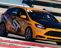 Ford Focus ST Octane Academy Car Wrap