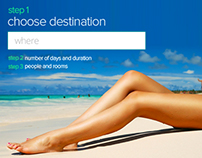 Jovago Website Design