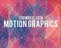 Showreel 2014 - MOTION GRAPHICS