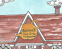 Commissioned Artwork: Postcard for Bampot