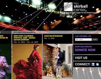 Skirball Center Website