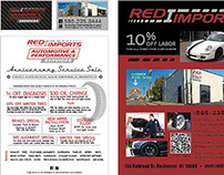 Red I Imports Promotional Work