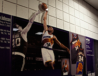 Phoenix Suns Locker Room • History Wall