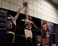 Phoenix Suns Locker Room • History Wall