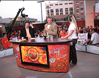 Phoenix Suns • Bud Light Paseo Signage / Broadcast Desk