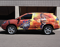 Phoenix Suns • Vehicle Wraps