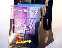 Phoenix Mercury • WNBA • POP Schedule Display