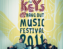 Black Keys Music Festival Poster