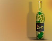 Rótulo - Edição especial de vinho