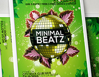 Minimal Beatz Party Flyer