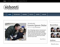 Ashonti Theme