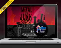 Metal Junk Website