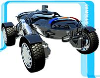 """Samsung """"STAR"""" Unmanned Ground Vehicle"""