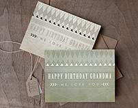 Grandpa/ Grandma Birthday Card