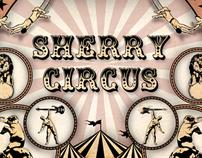 """Album Design """"Sherry Circus"""" Zentraña"""