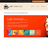 Art Connective website