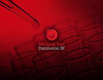 Brand Identity Medical Test Distribution SK