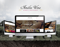 Wine - Responsive Restaurant Winery WordPress Shop
