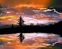 Digital paintings In photoshop