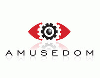 Amusedom, logo design