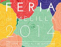 """Poster """"Feria de Melilla 2014"""""""