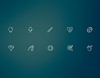 Bubble Icons | Icon Font