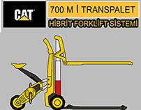 CAT 700 M - TRANSPALET