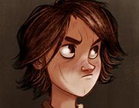 Arya Stark. Quick character study.