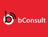 bConsult logo design