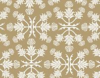Silybum marianum pattern